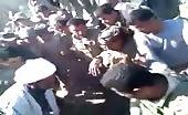 Public And Militia Tortures One Of The Civilians