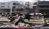 Bomb Blast In Lahore Pakistan