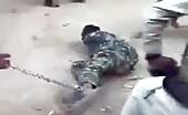 Inhuman Savage Taliban Torturing Iranian Man