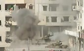 Syrian Army Tanks Destroyed