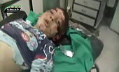 A Child Is Dying From Rocket Fire