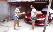 Brazilian Tranny Fight