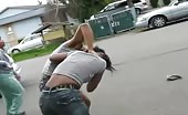 Ghetto Girls Fighting