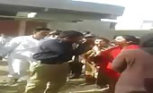 Brawl Between Police And Civilians