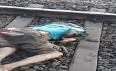 Dead On Railway Tracks