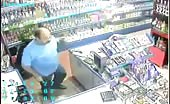 Armed Robber In Shop