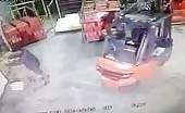 Forklift Kills Pedestrian