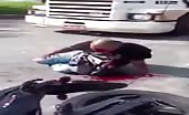 Terrible Accident On Motorcycle