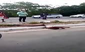 Motorcycle Accident Leaves Two People Dead