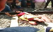 Indian Lady Gets Legs Cut Off