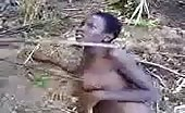 African Woman Tortured Naked