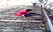 Woman Looses Arm In Train Accident