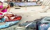 Indian Women Brutally Beaten On Street